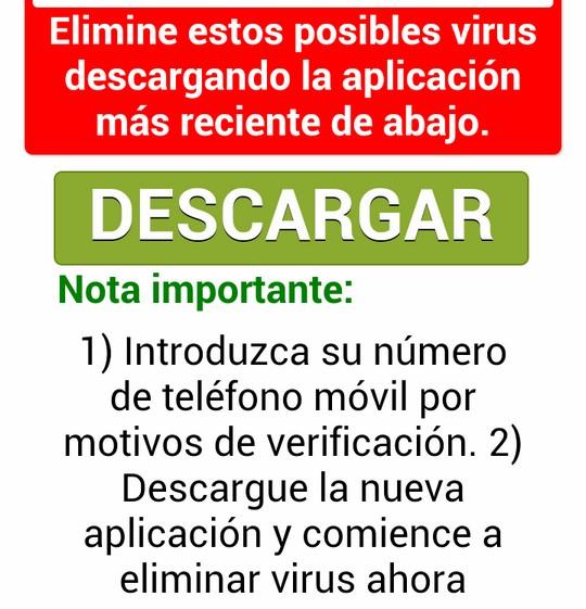 Introduzca su número de teléfono móvil por motivos de verificación
