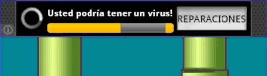 Usted podría tener un virus! REPARACIONES